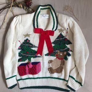 Marisa Christina Vintage Christmas Sweater